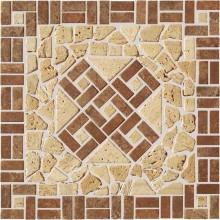 RAKO TRAVERTIN kamenná mozaika 30x30cm, hnědá-béžová