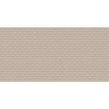 RAKO UP reliéfní obklad 30x60cm, šedo-hnědá