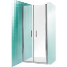 ROLTECHNIK TOWER LINE TCN2/900 sprchové dveře 900x2000mm dvoukřídlé, brillant/transparent