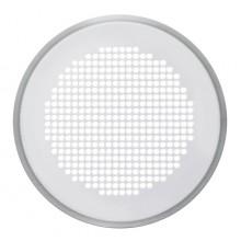 ZEHNDER VENEZIA krycí mřížka DN125 kulatá, s filtrem, nerez ocel