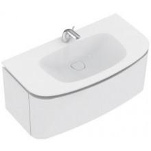 Umyvadlo nábytkové Ideal Standard s otvorem Dea 100x54x17cm bílá matná