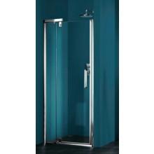Zástěna sprchová dveře Huppe sklo Refresh Akce 1000x1943mm stříbrná matná/čiré AP