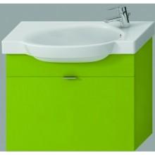 JIKA TIGO skříňka s umyvadlem 670x270x520mm s 1 zásuvkou, zelená 4.5516.2.021.156.1