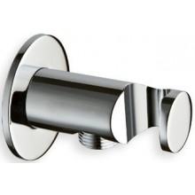 CRISTINA vyústění s držákem ruční sprchy 87mm chrom LISPD44651