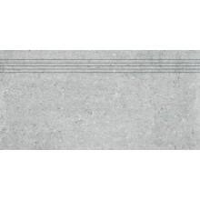 Schodovka Rako keramická slinutá Cemento 30x60 cm šedá