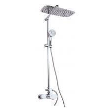 RAV SLEZÁK ZAMBEZI sprchová baterie 150mm s hlavovou a ruční sprchou, chrom ZA081.5/5