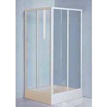 Zástěna sprchová čtverec Roltechnik plast LSS2 900x1800 mm bílá/damp