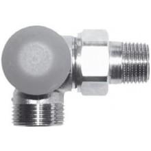 """HERZ TS-98-VHF termostatický ventil M30x1,5, 1/2"""" úhlový, levý, s plynulým přednastavením a číselnou stupnicí"""