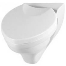 WC závěsné Villeroy & Boch odpad vodorovný Oblic hluboké splachování, osa doleva 415x535mm Bílá Alpin Ceramicplus
