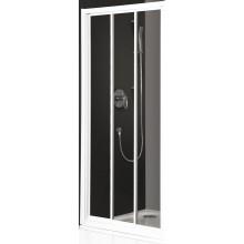 ROLTECHNIK CLASSIC LINE PD3N/900 sprchové dveře 900x1850mm posuvné s oboustranným vstupem pro instalaci do niky, bílá/transparent