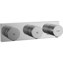 HANSA MATRIX sprchová baterie DN15, podomítková, elektronická, s termostatem, vrchní díl, chrom