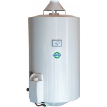 QUANTUM Q7EU 25 KMZ/E plynový ohřívač 95l, 4,3kW, zásobníkový, závěsný, do komína, bílá