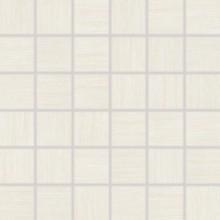 Dlažba Rako Defile mozaika 5x5 (30x30) cm bílá