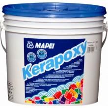 MAPEI KERAPOXY spárovací hmota 5kg, dvousložková, epoxidová, 120 černá
