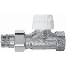 """Ventil radiátorový - závitový termostat. Concept Ventil VPT 70 3/8"""" - přímý s přednastavením"""