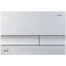 EASY ovládací tlačítko 247x165mm pro předstěnové instalační systémy, plast, chrom-lesk