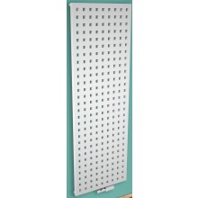 CONCEPT 200 FLUTE radiátor koupelnový 540W designový, středové připojení, sněhově bílá