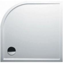 RIHO ZÜRICH 280 sprchová vanička 90x90x4,5cm, čtvrtkruh, akrylát, bílá