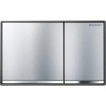 GEBERIT OMEGA 60 ovládací tlačítko 18,4x11,4cm, chrom kartáčovaný 115.081.GH.1