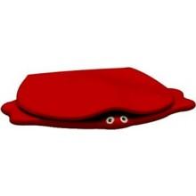 KERAMAG KIND klozetové sedátko, dětské, s poklopem, červená 573363000