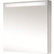 Nábytek zrcadlová skříňka Dřevojas MAX GA se zabudovaným osvětlením 60x76x140 cm LTD bílá