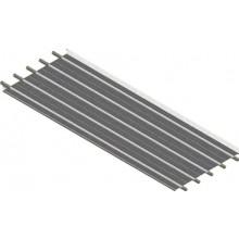 KOTRBATÝ KSP sálavý panel 900x2000mm, závěsný, teplovodní, dopravní bílá RAL 9016