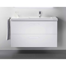 ROCA PRISMA skříňka pod umyvadlo 900x460x667mm, 2 zásuvky, vnitřní zásuvka, bílá