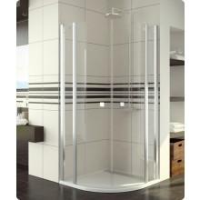 Zástěna sprchová čtvrtkruh Ronal Swing-Line SLR 55 1000 50 07 1000x1950 mm aluchrom/čiré AQ