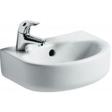 Umývátko klasické Ideal Standard s otvorem Connect s přepadem 35x26 cm bílá
