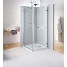 KOLO NEXT pevná boční stěna 800x1950mm pro kombinaci s křídlovými dveřmi, chrom/čiré sklo HSKX80222R03