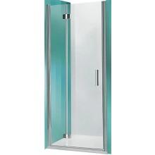 ROLTECHNIK TOWER LINE TZNL1/900 sprchové dveře 900x2000mm levé, zlamovací pro instalaci do niky, bezrámové, brillant/transparent