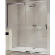 Zástěna sprchová dveře Huppe sklo Aura elegance 1100x2000 mm stříbrná matná/čiré AP