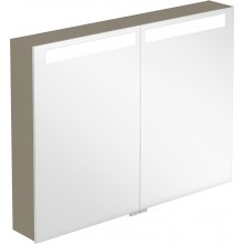 VILLEROY & BOCH VERITY DESIGN zrcadlová skříňka 1000x149x746,5mm s osvětlením, tmavý jilm B304F1FE
