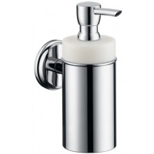 HANSGROHE LOGIS CLASSIC dávkovač tekutého mýdla 125ml, chrom/keramika 41614000