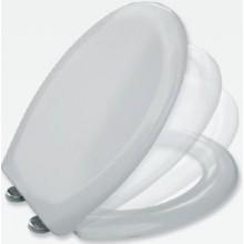 CONCEPT 350 B WC sedátko 378x415-465mm duroplastové, odnímatelné se soft close, bílá