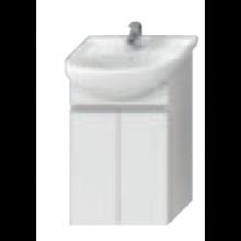 JIKA LYRA skříňka pod umyvadlo 540x315x696mm, bílá/bílý lak