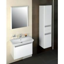 CONCEPT 600 skříňka vysoká 35x35x160cm závěsná, pravá, bílá
