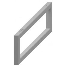 JIKA CUBITO nastavitelná podpěra 420x40x140mm, stříbrná