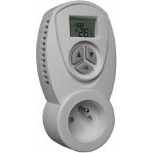 CONCEPT TZT-63C pokojový termostat 230V zásuvkový, s časovačem bílá