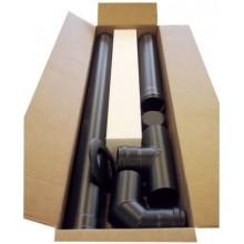 CENTROMETAL CMZSET set kouřovodů 80mm, nerez