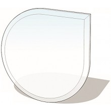 LIENBACHER sklo pod kamna 1100x1100mm, slza