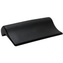 LAUFEN LB3 gelový podhlavník 355x190x30mm, samodržící, černá