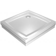 RAVAK PERSEUS 90 SET L panel 900mm, včetně upevnění, do rohu, bílá