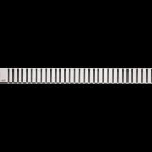 CONCEPT 100 LINE rošt pro podlahový žlab, kolmý, nerez mat