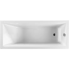 Vana plastová Jika klasická Cubito bez podpěr 180x80 cm bílá