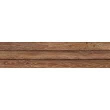 IMOLA WOOD dekor 24x100cm red, L.WOOD 3D R
