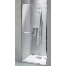 KOLO NEXT křídlové dveře do niky 1000x1950mm dveře otevírané vně, levé/pravé, chrom/čiré skloReflexKolo HDRF10222R03R