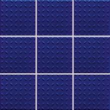 RAKO POOL mozaika 10x10cm, lepená na síťce, tmavě modrá