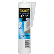 MUREXIN AC 15 hmota spárovací 310ml, jednosložková, akrylová, bílá