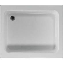 Vanička plastová Teiko obdélník - 90x75x15cm bílá
